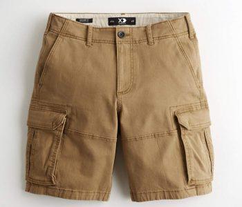 Xamors-Cargo Shorts-1